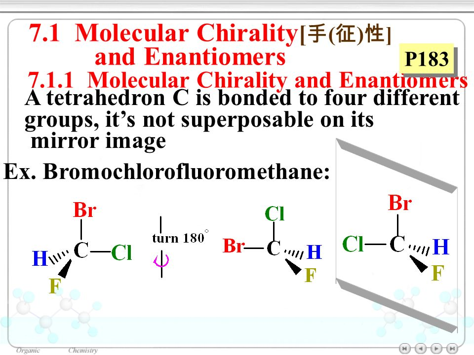 Molecular Chirality And Enantiomers Chapter Apte Stereochemistry Ppt Video Online Download